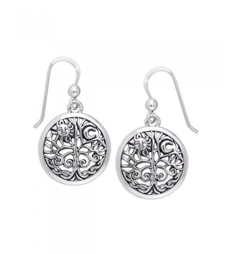 Ancient Filigree Sterling Silver Earrings