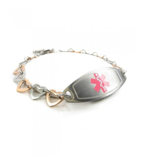 MyIDDr Pre Engraved Customized Bariatric Bracelet