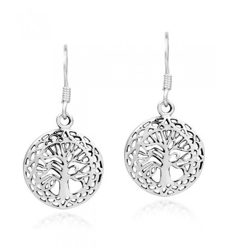 Mystic Celtic Sterling Silver Earrings