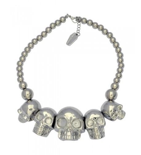 Kreepsville 666 Collection Necklace Metallic