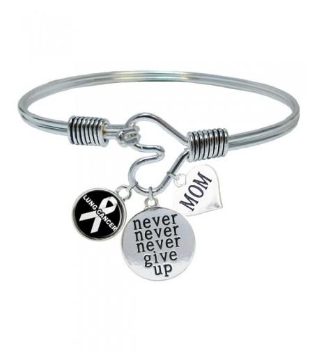 Custom Cancer Awareness Bracelet Jewelry