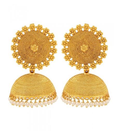 Adwitiya Collection Plated Designer Earring