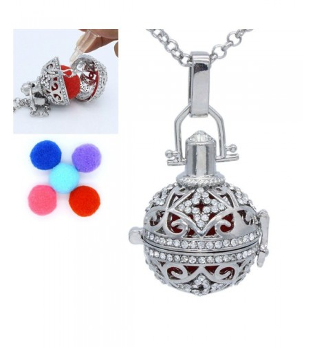 Fragrance Essential Aromatherapy Rhinestone Locket