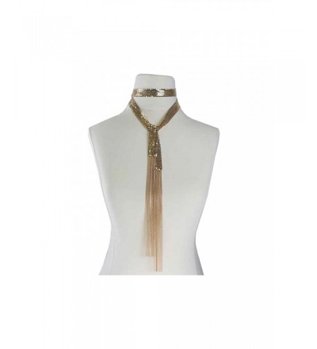 Womens Spangle Fashion Necklace MOS7250