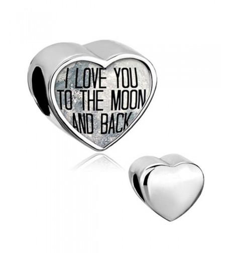 Locket Heart Charm Bracelet Smooth