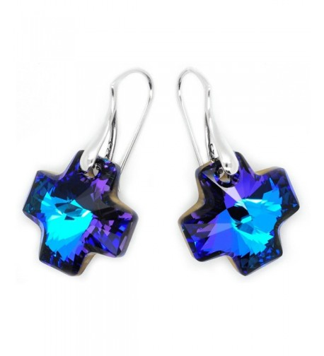 Sterling Silver Earrings Swarovski Crystals
