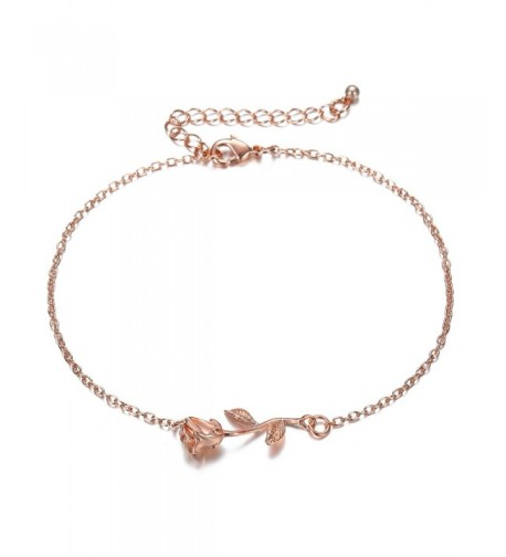 Rose Women Girls Anklets Jewelry