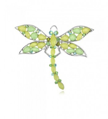 Alilang Elegant Dragonfly Rhinestone Synthetic