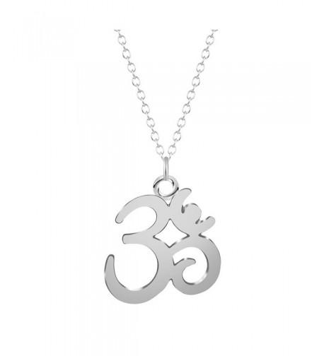 MUZHE Sanskrit Pendant Necklace Jewelry