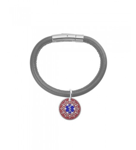 Divoti Engraved Valentine Medical Bracelet