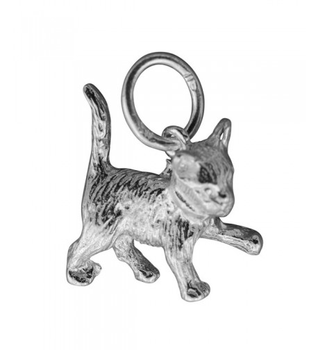 Silver Charm Kitten sterling silver