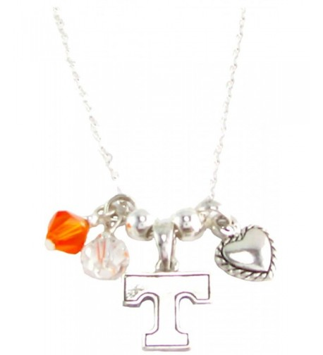 Tennessee Volunteers Austrian Crystal Necklace