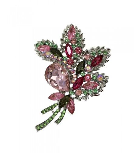 TTjewelry Beautiful Silver Tone Crystal Rhinestone
