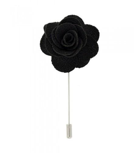 Flower Stick Pin Cloth Textured
