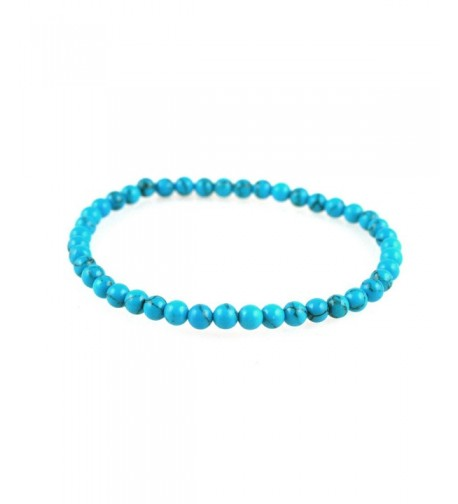 Power Simulated Turquoise Howlite Bracelet
