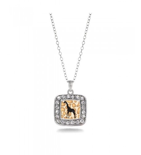 Inspired Silver N 11168 Silhouette Necklace