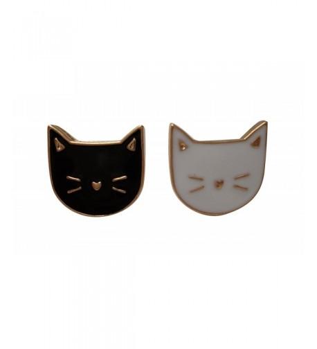 Cute Cat Enamel Lapel Pin