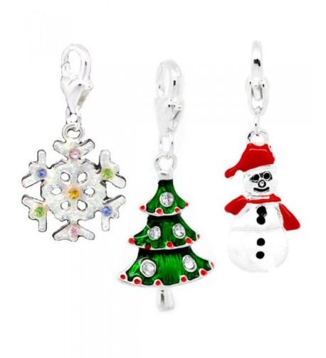 Christmas Set Charms Thomas Bracelets