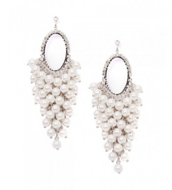 Zirconia Dangle Chandelier Earring Jewelry