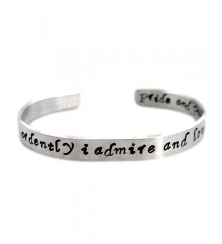 Jane Austen Bracelet Ardently Customizable
