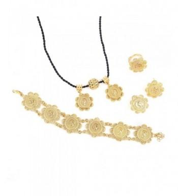 Gold Classic Pendant Bracelet Jewelry