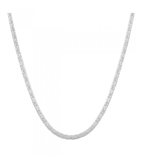 Sterling Silver 2 4 mm Popcorn Chain