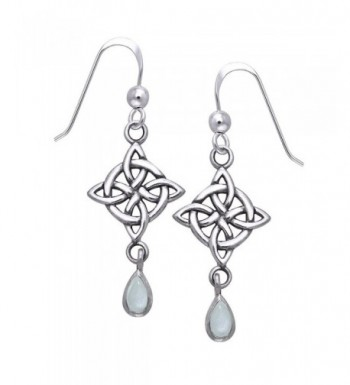 Sterling Silver Four Point Moonstone Teardrops