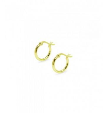 Yellow Flash Sterling Silver Earrings