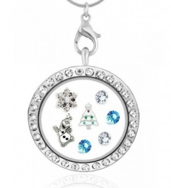 Cherityne Season Crystal Floating Necklace