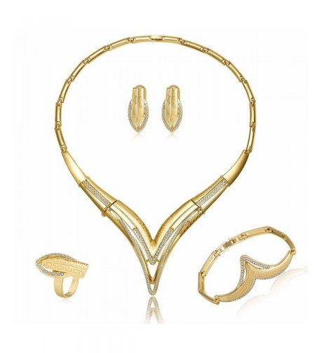 MOOCHI Plated Geometric Pendent Jewelry