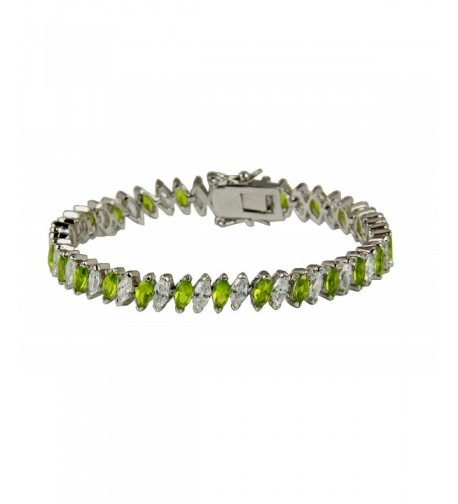 3030003 Tennis Bracelet Fashion Marquise