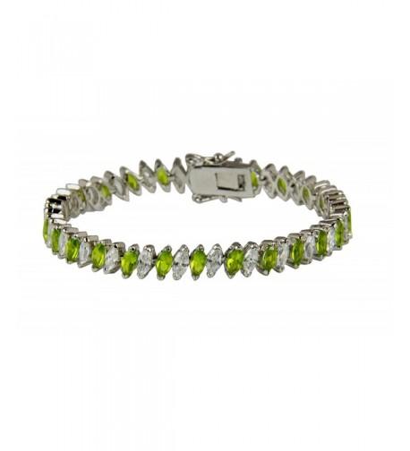 3030003 Tennis Bracelet Fashion Marquise