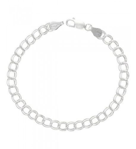 Sterling Silver Anklet Double Nickel