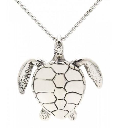 Jenhianeck Titanium Tortoise Pendant Stainless