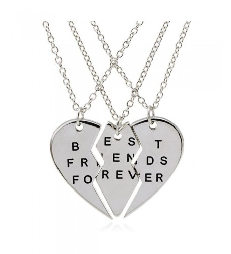 ISHOW Broken Friends Forever Necklace