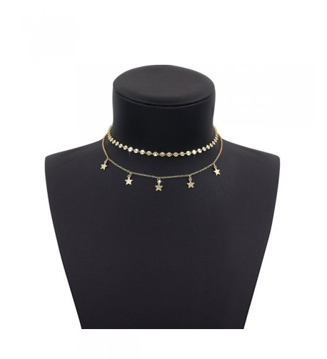 Boosic Double Layer Necklace Choker