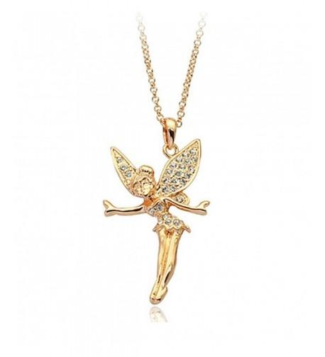Tinkerbell Swarovski Elements Crystal Necklace
