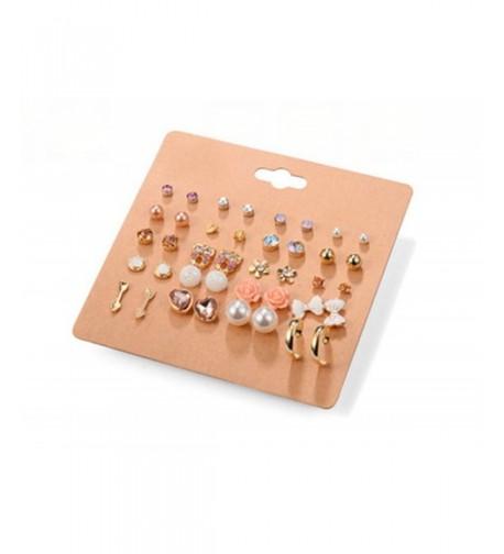 Cyntan Female Earrings Plated Bowknot