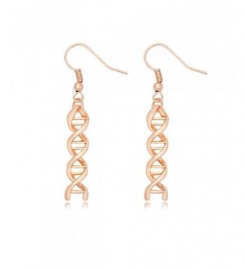 MANZHEN Molecule Chemistry Science Earrings