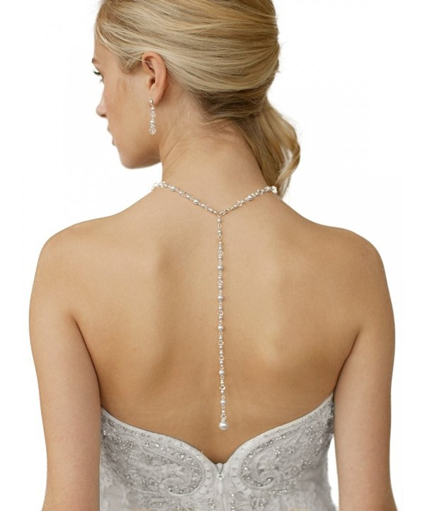 Mariell Crystal Necklace Wedding Brides