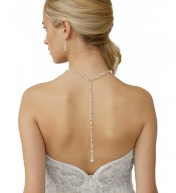 Mariell Crystal Necklace Wedding Brides