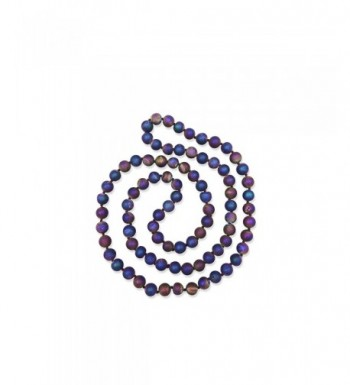 Genuine Semi precious Peacock Infinity Necklace