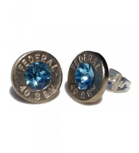 Bullet Earrings Swarovski Crystal Brand