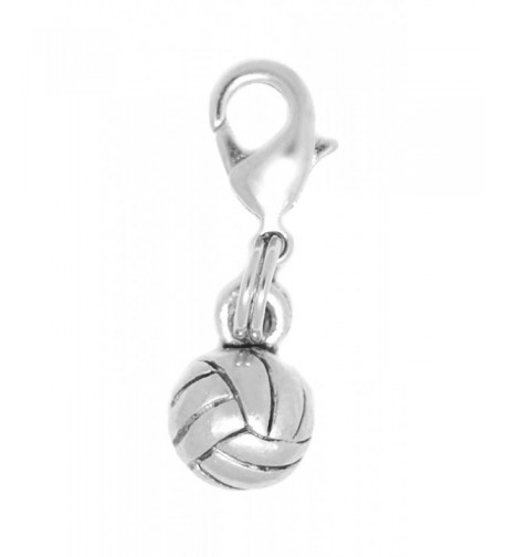 Clayvision Volleyball Zipper bracelets decoration