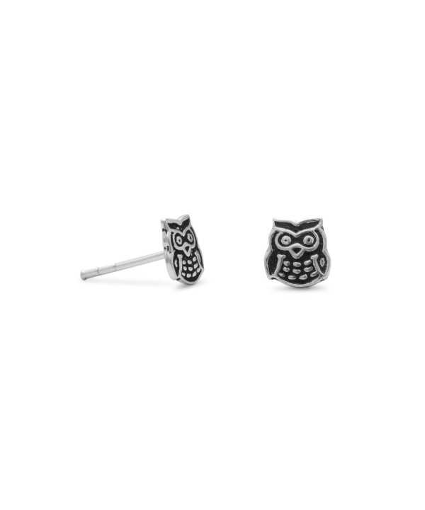 Cute Earrings Antiqued Sterling Silver