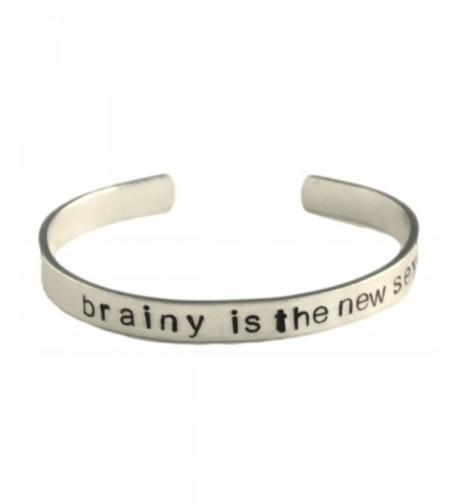 Sherlock Inspired Stamped Aluminum Bracelet