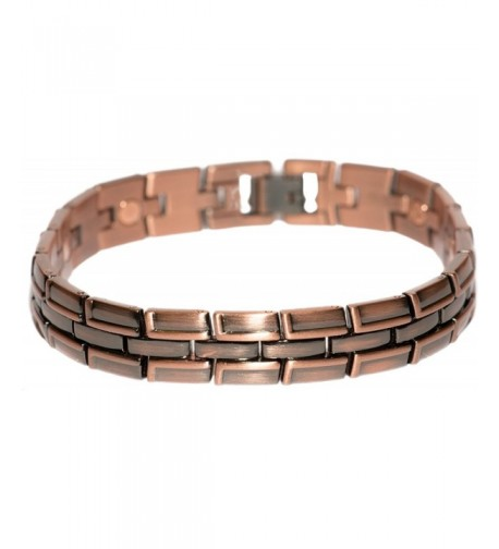 Copper Plated Joy Magnetic Bracelet