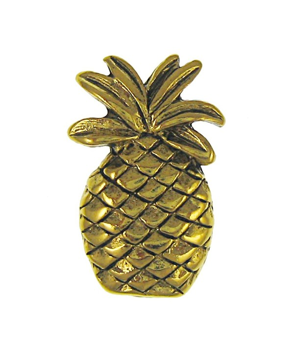 Pineapple Gold Lapel Pin Count