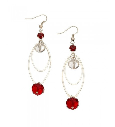 Christmas Facet Pierced Earrings Style