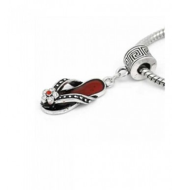 Charm Clear Rhinestones Dangle Bracelet